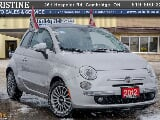 Photo 2012 Fiat 500 Lounge Only 121 km Bluetooth...