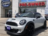 Photo 2013 mini cooper 1.60 S Coupe w/Leather/Heated...
